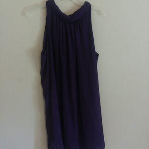 Eva Mendes silky dress